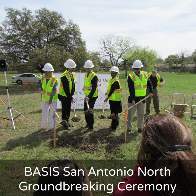 BASIS San Antonio North groundbreaking ceremony | San Antonio Charter Moms