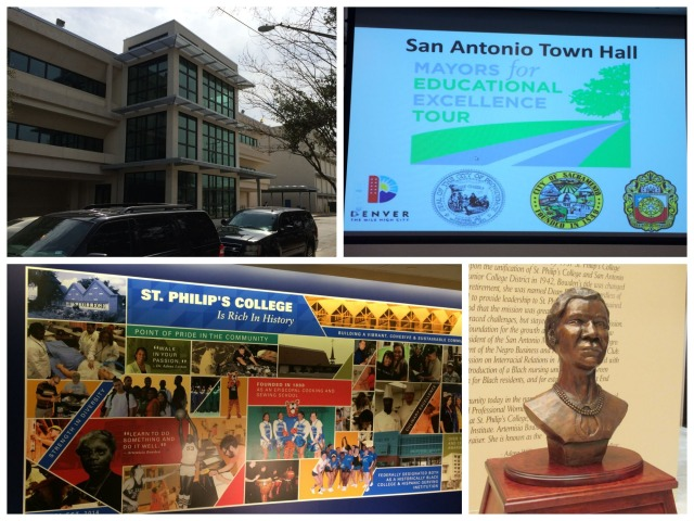 Mayors for Educational Excellence Tour town hall meeting at St. Philip's College | San Antonio Charter Moms