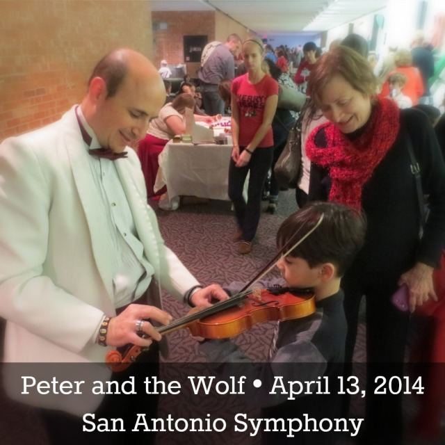 Win tickets to Peter and the Wolf on April 13 with the San Antonio Symphony   San Antonio Charter Moms