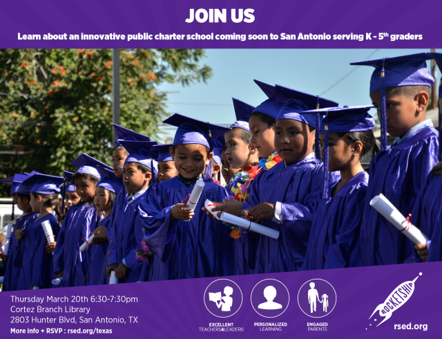 Rocketship Education parent information session March 20, 2014 at 6:30 p.m. | San Antonio Charter Moms