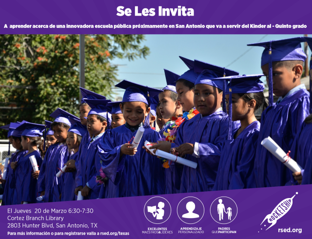 Rocketship Education informacion para los padres March 20, 2014 at 6:30 p.m. | San Antonio Charter Moms