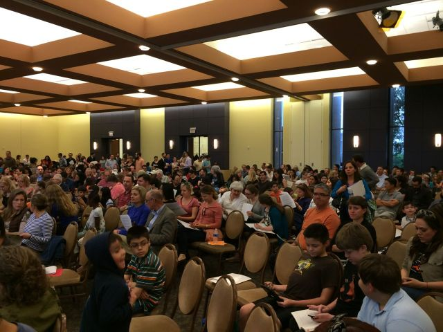 Standing-room-only audience at Great Hearts Monte Vista open house | San Antonio Charter Moms