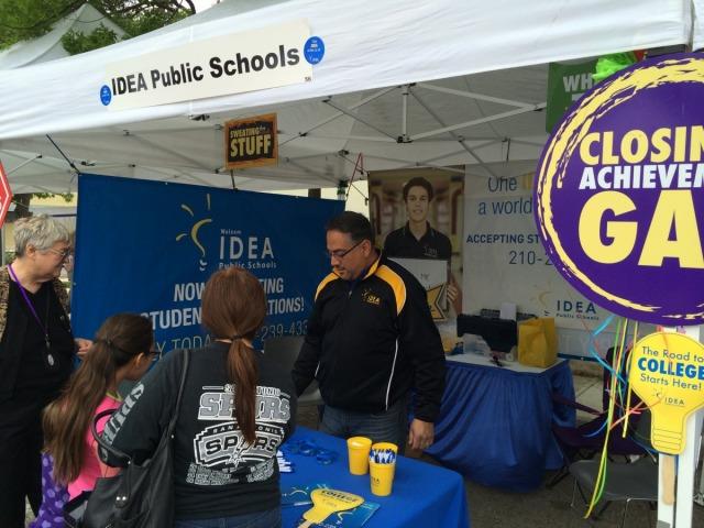 IDEA Public Schools at the San Antonio Book Festival | San Antonio Charter Moms