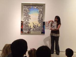 story time at the San Antonio Museum of Art | San Antonio Charter Moms