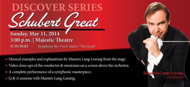 "DISCOVER Schubert ""The Great"" San Antonio Symphony | San Antonio Charter Moms"