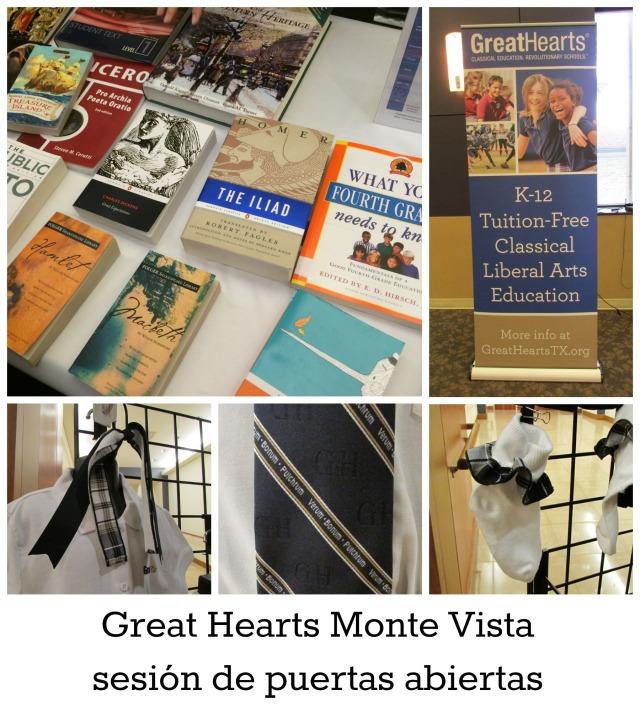 Great Hearts Monte Vista sesion de puertas abiertas | San Antonio Charter Moms