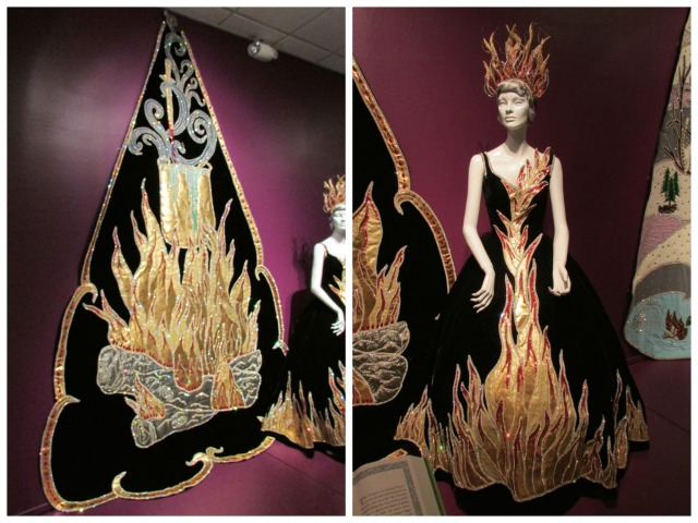 Fairytale Fiesta at the Witte Museum - flames | San Antonio Charter Moms