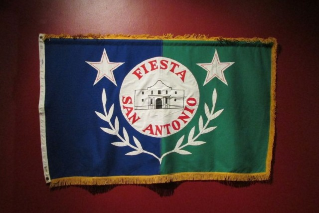Fiesta San Antonio official flag | San Antonio Charter Moms