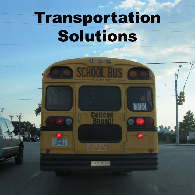 Parent-organized transportation solutions | San Antonio Charter Moms