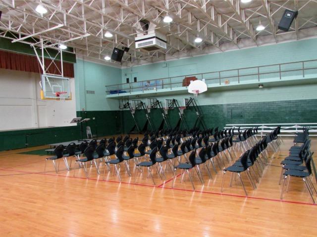 Gym at Great Hearts Monte Vista North   San Antonio Charter Moms