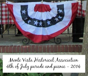 Monte Vista Historical Association 4th of July parade and picnic 2014 | San Antonio Charter Moms