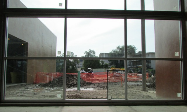 Windows in a connector space at The Do Seum | San Antonio Charter Moms