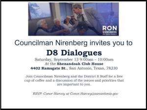 D8 Dialogues with Councilman Ron Nirenberg