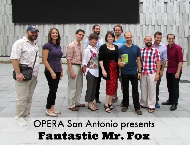 OPERA San Antonio presents Fantastic Mr. Fox | San Antonio Charter Moms