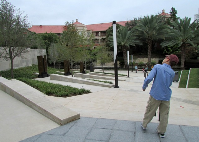 Tobin Center Veteran Memorial Plaza | San Antonio Charter Moms