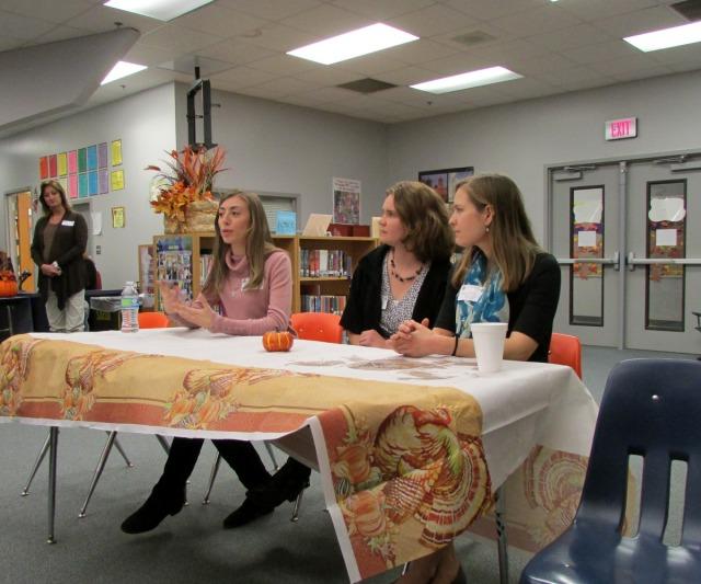 Trinity University teacher training at Lamar: Katherine Crain, Andrea Lucas, Lauren Turley | San Antonio Charter Moms