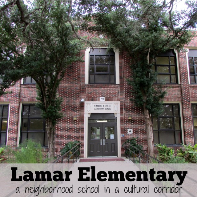 Lamar Elementary: a neighborhood school in a cultural corridor | San Antonio Charter Moms