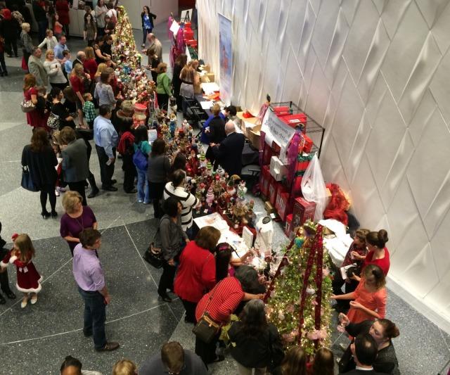 Tobin Center lobby transformed into a Nutcracker market benefitting Ballet San Antonio | San Antonio Charter Moms