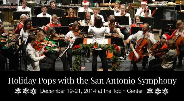 [Giveaway] Holiday Pops with the San Antonio Symphony | San Antonio Charter Moms