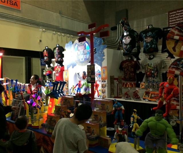 Marvel Universe Live merchandise | San Antonio Charter Moms