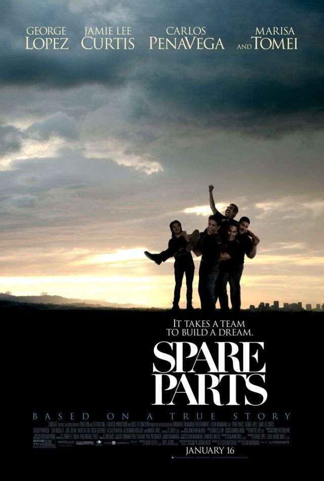 """Spare Parts"" movie review | San Antonio Charter Moms"