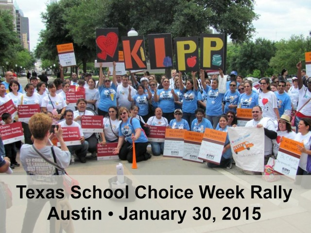 Texas School Choice Week Rally 2015 | San Antonio Charter Moms