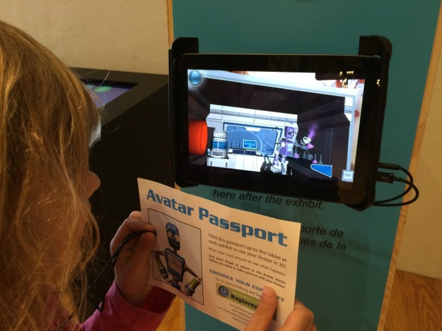 G.N. uses her avatar passport to learn more about chemical reactions | San Antonio Charter Moms