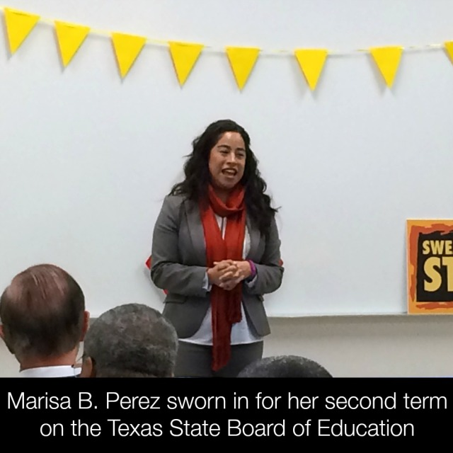 Marisa B. Perez sworn in for her second term on the Texas State Board of Education | San Antonio Charter Moms