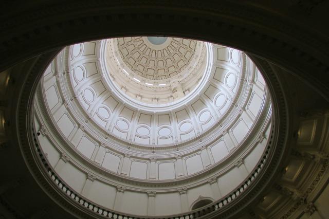 Texas State Capitol rotunda   San Antonio Charter Moms