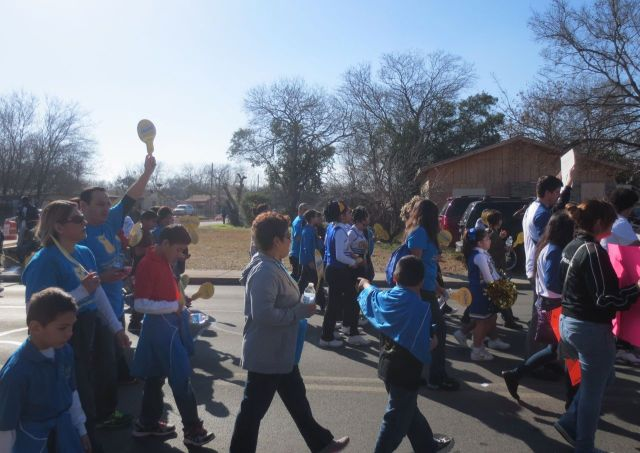 2014 MLK March in San Antonio with IDEA South Flores families | San Antonio Charter Moms