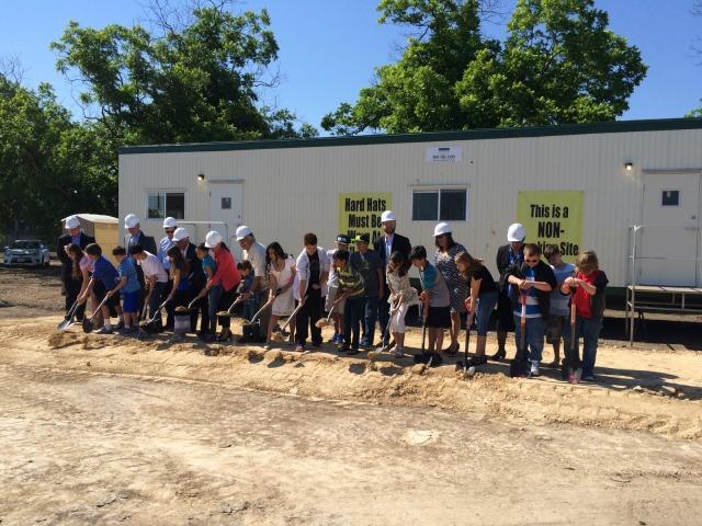 Carpe Diem Westwood groundbreaking   San Antonio Charter Moms