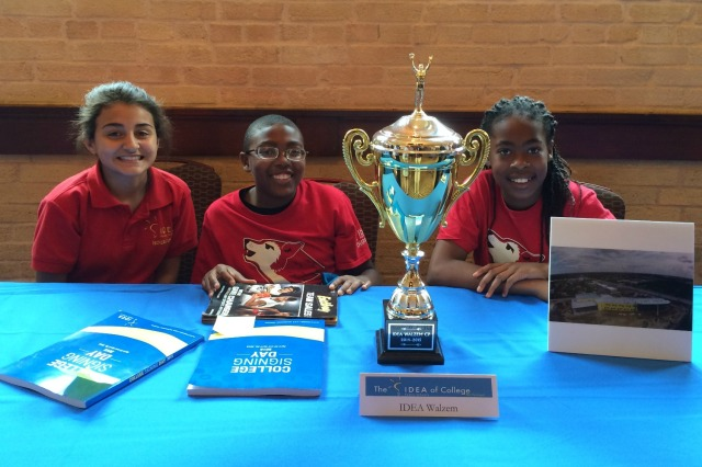 IDEA Walzem students Madyson, Jamal, and Ja'keya | San Antonio Charter Moms