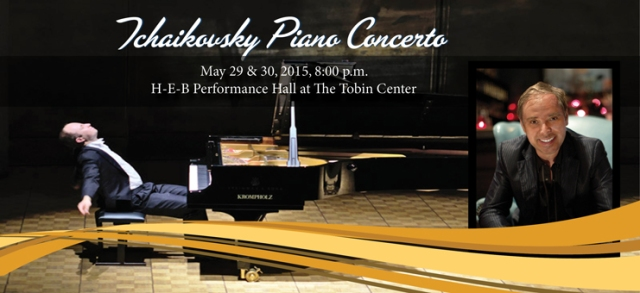 San Antonio Symphony Tchaikovsky Piano Concerto Classics Series | San Antonio Charter Moms