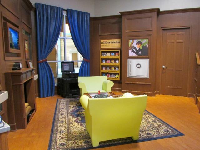 The DoSeum Spy Academy parlor | San Antonio Charter Moms