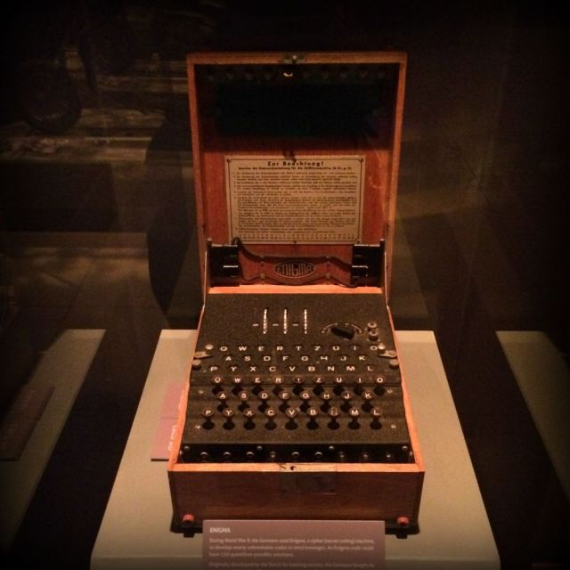 Enigma machine -- Spy: The Exhibit | San Antonio Charter Moms
