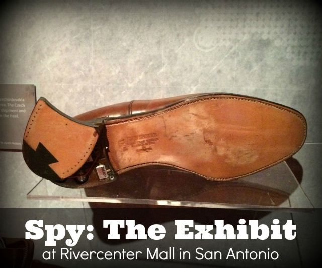 Spy: The Exhibit at Rivercenter Mall | San Antonio Charter Moms