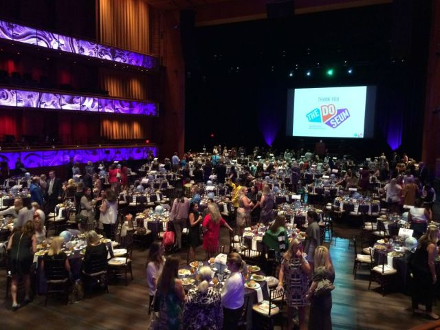 The DoSeum Outside the Lunchbox luncheon at the Tobin Center   San Antonio Charter Moms