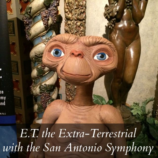 E.T. the Extra-Terrestrial with the San Antonio Symphony at the Majestic Theatre | San Antonio Charter Moms