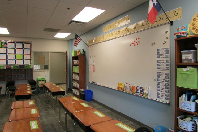 Classroom at Great Hearts Northern Oaks | San Antonio Charter Moms