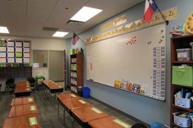 Classroom at Great Hearts Northern Oaks | San Antonio Charter Moms