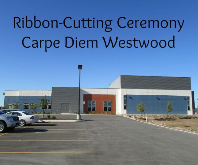 Ribbon-cutting ceremony at Carpe Diem Westwood | San Antonio Charter Moms