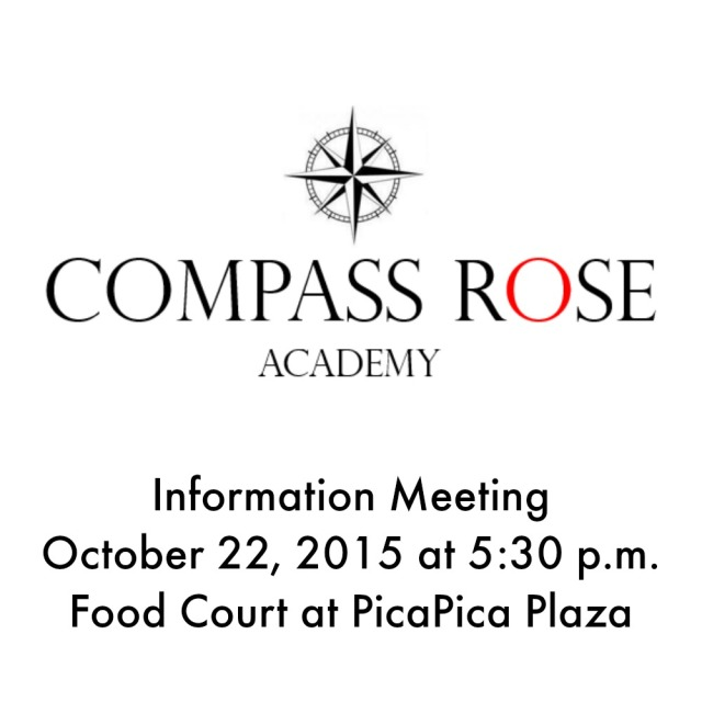 Compass Rose Academy information meeting on October 22, 2015 | San Antonio Charter Moms