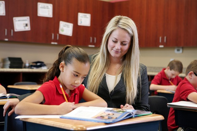 Legacy Traditional School classroom | San Antonio Charter Moms