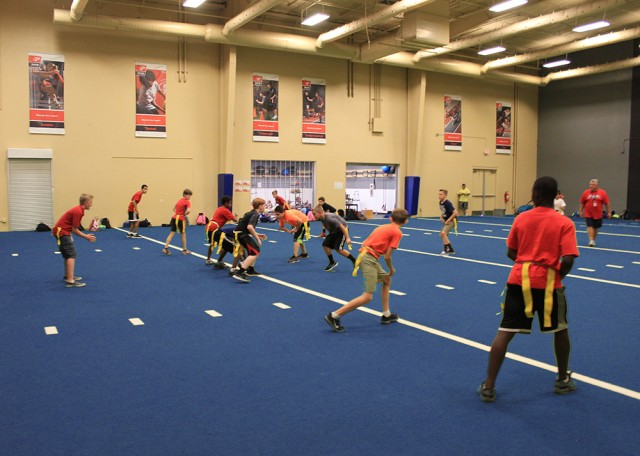 Legacy Traditional School physical education class | San Antonio Charter Moms