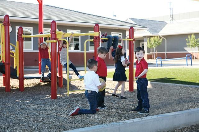 Legacy Traditional School playground | San Antonio Charter Moms
