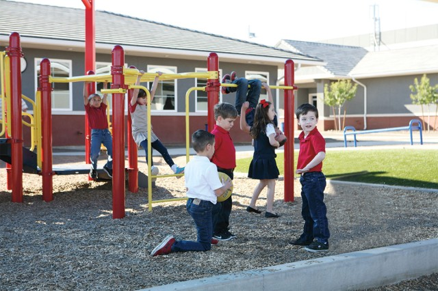 Legacy Traditional School playground | San Antonio Charter Moms