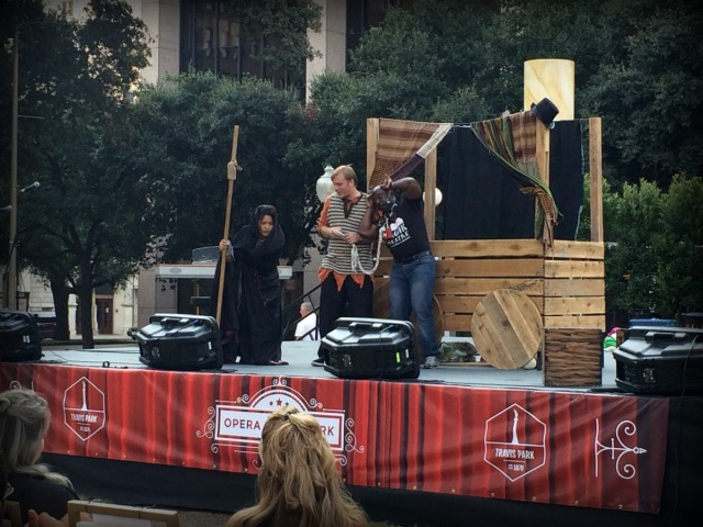 Magik Theatre at Opera in the Park at Travis Park in San Antonio, Texas | San Antonio Charter Moms
