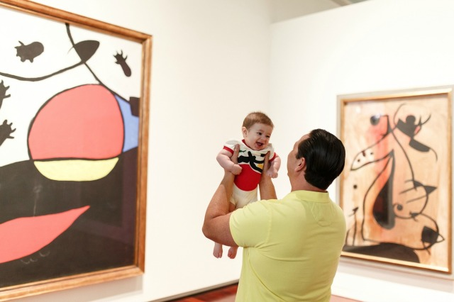 "ArtStrolls at ""Miró: The Experience of Seeing"" at the McNay Art Museum, photo by Josh Huskin 