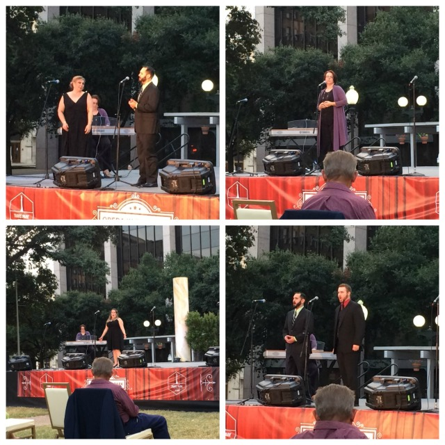 Opera Piccola of San Antonio at Opera in the Park in Travis Park in San Antonio, Texas | San Antonio Charter Moms