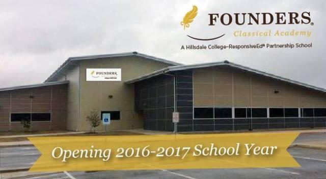 Founders Classical Academy Schertz | San Antonio Charter Moms